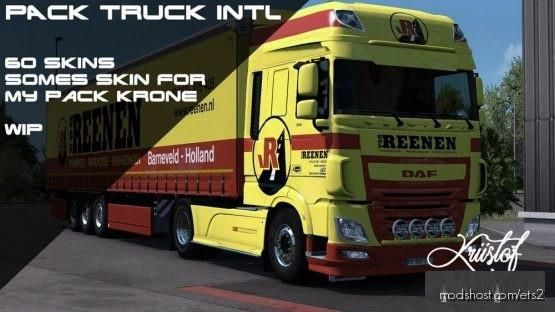Kriistof Addon Pack Krone DLC V2.5 for Euro Truck Simulator 2