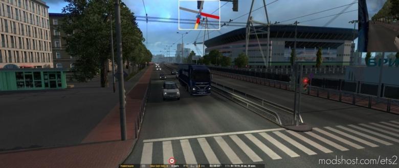 Addon Petersburg And Vyborg For Rusmap V2.1.1 for Euro Truck Simulator 2