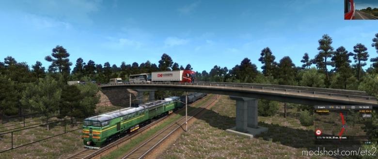 Rusmap V2.1.1 [1.37.X] for Euro Truck Simulator 2