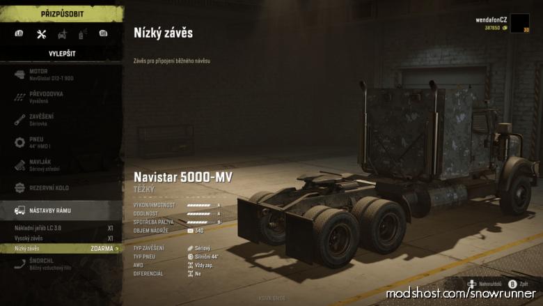 Navistar 5000 MV for SnowRunner