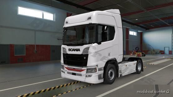 Skin Benoit Transports For Scania R (NG) for Euro Truck Simulator 2
