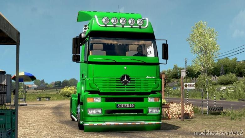 Mercedes Benz Axor MP1 V3.0 for Euro Truck Simulator 2