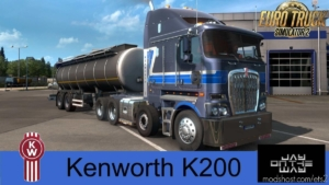 Kenworth K200 [1.37] for Euro Truck Simulator 2