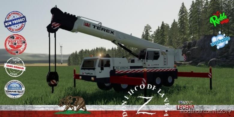 Terex AC100/4L V1.5 for Farming Simulator 19