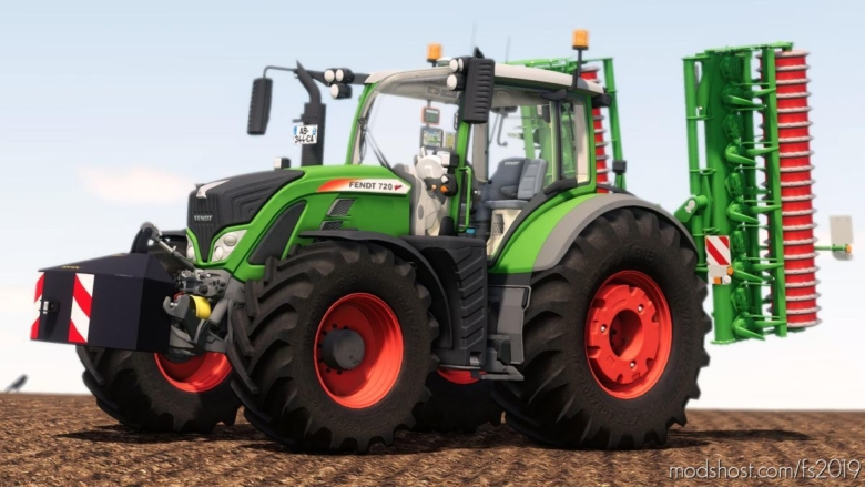 Fendt 700 for Farming Simulator 19