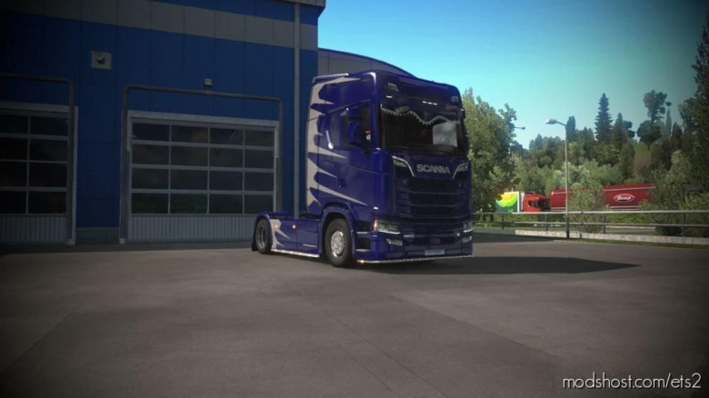 Scania S Formula-F Style for Euro Truck Simulator 2