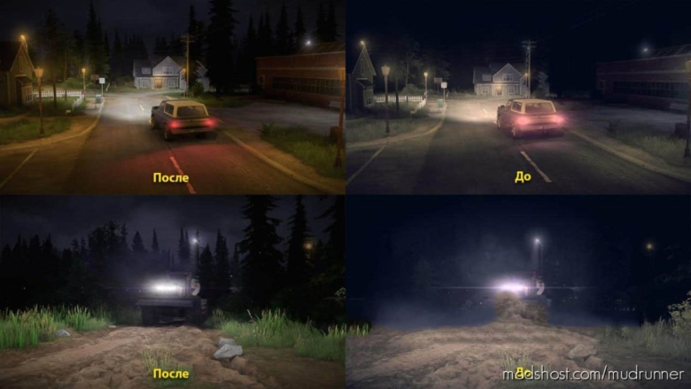 Realistic Graphics Adega Mod Pack V3.1 FIN + SP for MudRunner