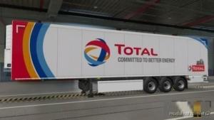 SCS BOX Trailer Total OIL Trailer Skin Paintjob [1.37] for Euro Truck Simulator 2