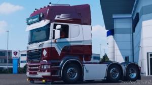 WF Fred Skin Metallic [1.37] for Euro Truck Simulator 2