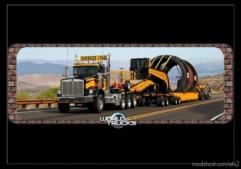 Loading Screen Oversize Load V0.1 for Euro Truck Simulator 2