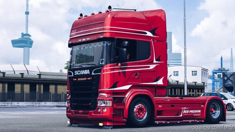 Scania RED Passion Skin [1.37] for Euro Truck Simulator 2