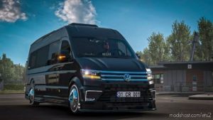 Volkswagen Crafter 2020 VIP [1.37] for Euro Truck Simulator 2