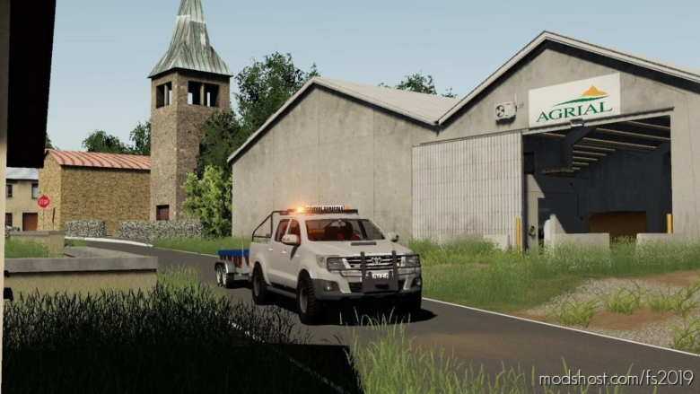 Toyota Hilux Phase VII for Farming Simulator 19