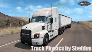 Truck Physics V2.1 [1.37.X] for American Truck Simulator