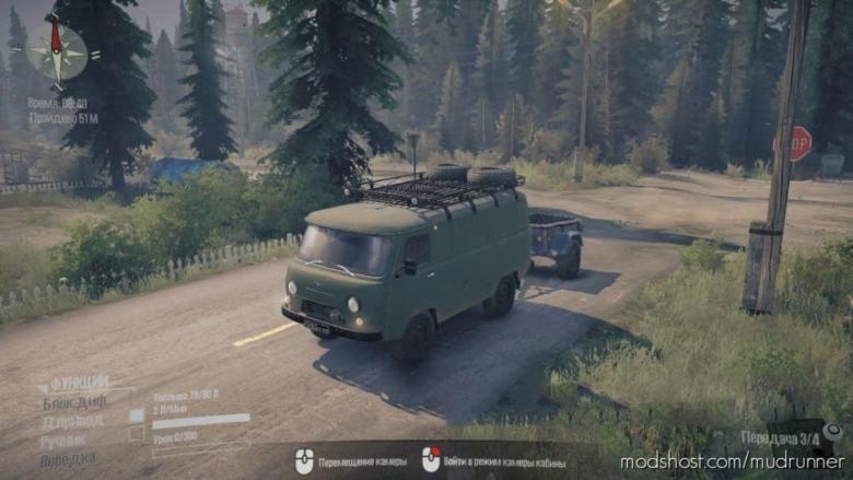 """UAZ 452 """"Loaf"""" for MudRunner"""