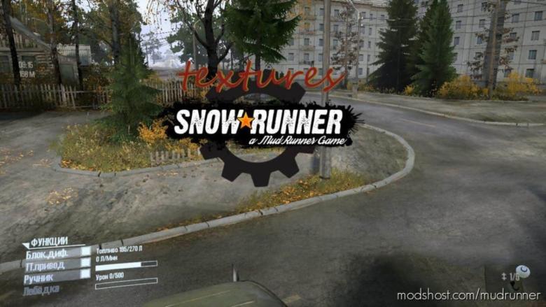 Textures + Mod for MudRunner