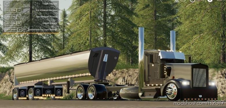 Kenworth W900 Streetreaper Edit for Farming Simulator 19