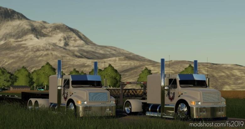 International 4900 Street Reaper Custom Single Axle for Farming Simulator 19