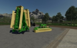 Krone Mower Pack for Farming Simulator 19