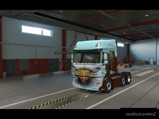 Eagle DAF Skin for Euro Truck Simulator 2