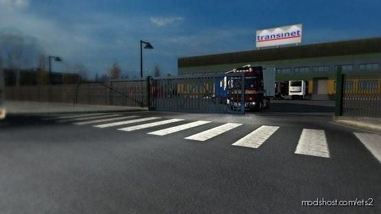 Animated Gates In Companies V3.7 [Schumi] [1.37] for Euro Truck Simulator 2