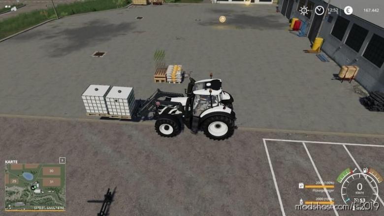 Extended Palletfork for Farming Simulator 19