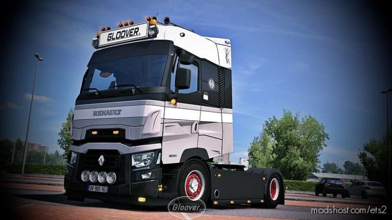 Renault T Light Improvements V1.4 Fixed [1.37] for Euro Truck Simulator 2