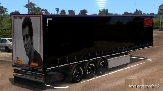 Mayan Skin For Trailer for Euro Truck Simulator 2