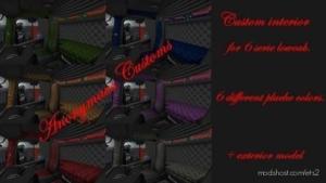 Custom Interior For 6 Serie Scania Lowcab for Euro Truck Simulator 2