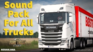 Truck Sound Pack DE Sons V2.0 By Nescau [1.37] for Euro Truck Simulator 2