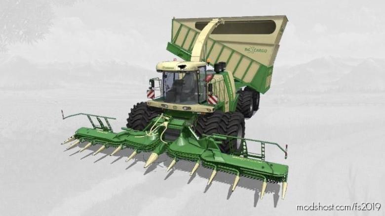 Krone Bigx1180 Cargo for Farming Simulator 19