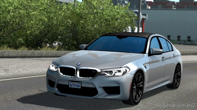 BMW M5 F90 V1.3 [1.37] for Euro Truck Simulator 2