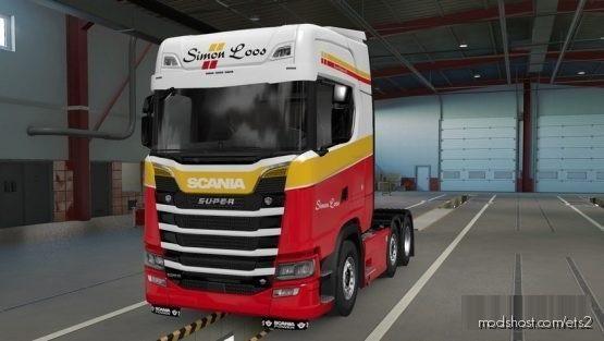 Skin Scania S / Simon Loos for Euro Truck Simulator 2