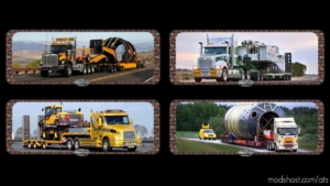 Loading Screen Oversize Load V0.1 for American Truck Simulator