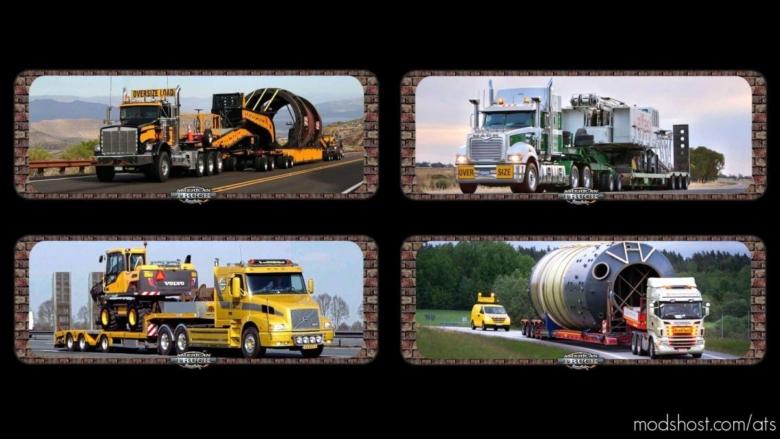 Loading Screen Oversize Load V0.1 for American Truck Simulator
