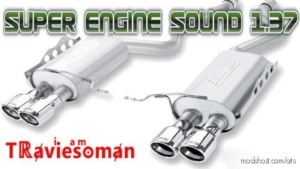 Super Engine Brake Sound [1.37] for American Truck Simulator