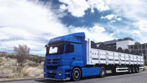 Ownable Tirsan SAL Trailer [1.37] for Euro Truck Simulator 2