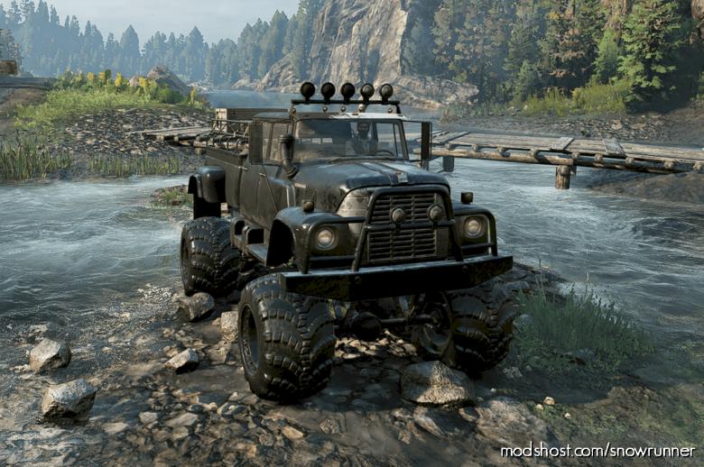 Scoutstar Truck for SnowRunner