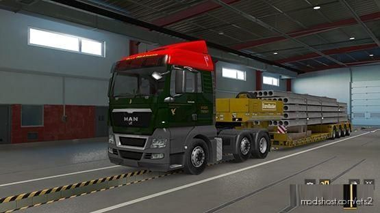Jhon Dickinson Skin for Euro Truck Simulator 2