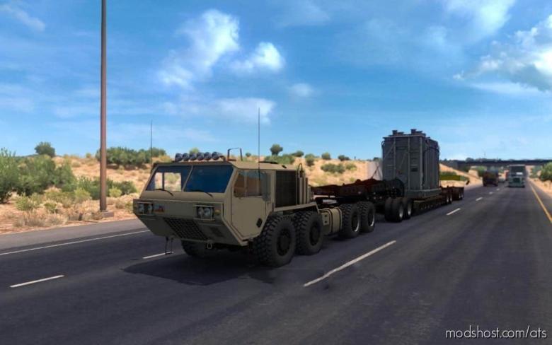 Oshkosh Defense Hemtt A4 Truck V1.1 for American Truck Simulator