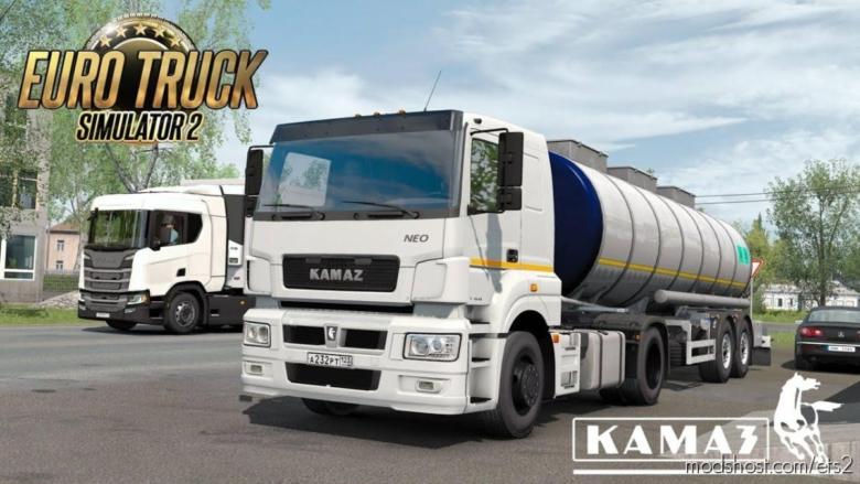 Kamaz OM457 EVR Sound Fmod Fixed [1.37] for Euro Truck Simulator 2
