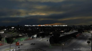 Realistic Brutal Weather V5.1 [1.37] for Euro Truck Simulator 2