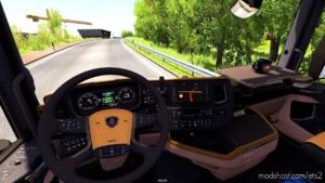 Scania Nextgen R&S Cremebeige Interior [1.37] for Euro Truck Simulator 2