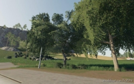 Dark Trees & Bush Textures for Farming Simulator 19
