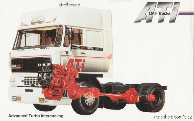DAF F241 Stock Sound By Kriechbaum In Fmod [1.37] for Euro Truck Simulator 2