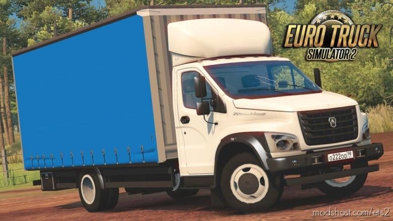 Gazon Next + Inteiror [1.37] for Euro Truck Simulator 2