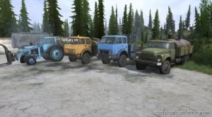 Playable Transport DLC Vehicle Pack for MudRunner