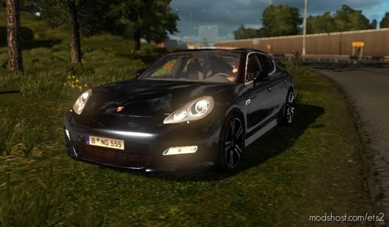 Porsche Panamera Mod [1.36] for Euro Truck Simulator 2