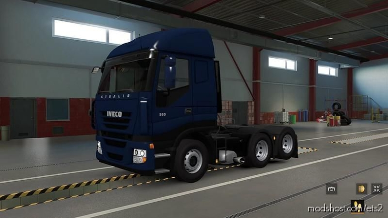 Iveco Stralis SCS Reworked [1.37] for Euro Truck Simulator 2