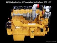 625HP Engine For ALL Trucks For Multiplayer [1.37] for American Truck Simulator